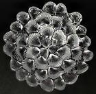 Vtg. Art Deco Royal Copenhagen Crystal Seashell Bowl, 1960s Per Lutken Design