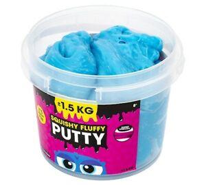 Squishy Fluffy Slime Knete Schleim Kinder Spielschleim XXL Eimer 1,5 Kg