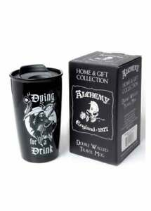 Alchemy - Dying For A Drink - Double Walled Mug