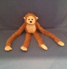 "NICE Monkey Plush Hanging Stuffed Animal 20"" Long hangs door attachable hands"