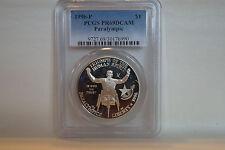 1996-P $1 Paralympic Wheelchair Commemorative Silver Dollar  PR69 DCAM PCGS