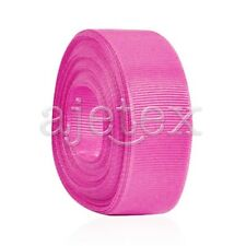 "10 Meters 1/4""6mm Grosgrain Ribbon Bows Wedding Craft Decoration Dark Pink OBS"