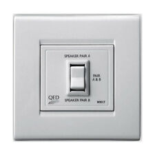 QED Steamline Wm17 Wall Mount Stereo Speakers Switch -