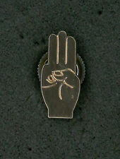 SCOUTS OF JAPAN (NIPPON) - BEAVER SCOUT BRONZE METAL FRIENDSHIP AWARD PIN PATCH