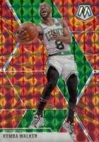 2019-20 Panini Mosaic Reactive Orange Prizm Kemba Walker #99 Boston Celtics