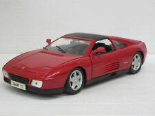 Ferrari 348 ts Targa in rot, Maisto, 1:18, o. OVP (D)