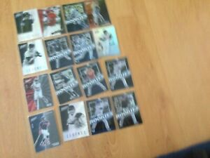 Lot of serial numbered Major League Baseball Cards
