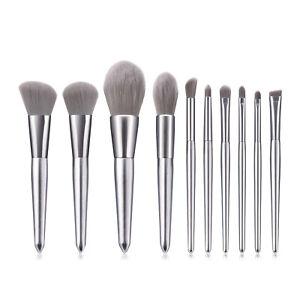 8/10Pcs Makeup Brushes Tool Set Cosmetic Eyeshadow Face Powder Foundation Brush