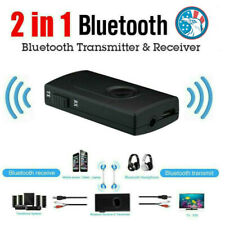 2-in-1 Bluetooth V4.2 Transmitter Receiver Wireless Aptx Stereo Audio Adapter US