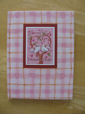 New Seasons Hardcover Journal From The Heart Pink Withdoves New Free Shipping