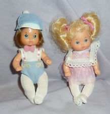 HEART FAMILY TODDLER TWINS - 1986 By MATTEL -  MINTY!