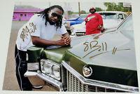 8BALL & MJG MEMPHIS RAP LEGENDS SIGNED 11x14 PHOTO w/COA HIP HOP SUAVE HOUSE