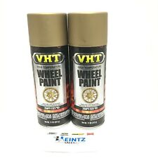 Vht Sp193 2 Pack High Temperature Matte Gold Flake Wheel Paint 11 Oz