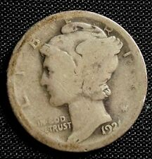 1921 10C Mercury Dime Key Date
