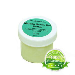 Matcha Green Tea Butter Organic 100% Pure 2 oz 4oz 8oz up to 12 Lb Free Shipping