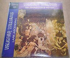Abravanel WALTON Belshazzar's Feast VAUGHAN WILLIAMS - Candide CE 31052 SEALED