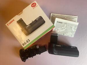 CANON BG-E3 Battery Grip for EOS 400D/350D