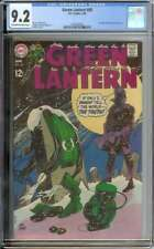 GREEN LANTERN #68 CGC 9.2 OW/WH PAGES