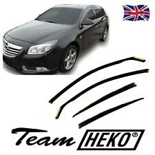 DOP25382 VAUXHALL INSIGNIA SPORTS TOURER ESTATE WIND DEFLECTORS 4pc HEKO TINTED
