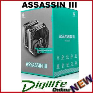 Deepcool Assassin III Air Cooler - Cold, Quiet, Efficient & Stylish 280W