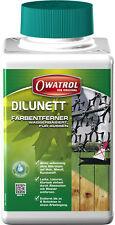 Dilunett 100ml 109€/l Owatrol Abbeizer Lackentferner Farbentferner