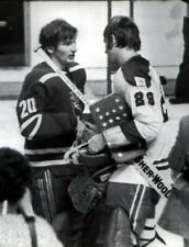 KEN DRYDEN & VLADILAV TRETIAK GOALIE MONTREAL VS RED ARMY  1975 HOCKEY PHOTO8X11