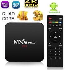 MXQ Pro 4K 64-bit Android 7.1 Streaming TV Box S905W Quad Core 1GB+8GB KODI 17.6