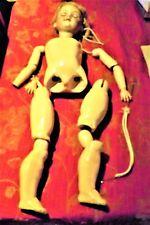 Biske cabeza muñeca alemana am que necesitan reparaciones a cuerpo