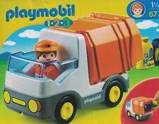 Playmobil 6774  Müllauto Müllwagen Mülllaster Laster LKW 1-2-3