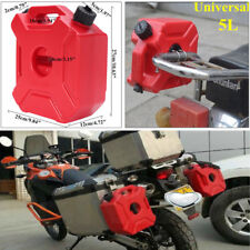 5L/1.3Gall Plastic Jerry Can Gas Diesel Petrol Fuel Tank Oil Container Fuel-jugs