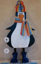 "HOLIDAY/WINTER PRIMITIVE WOOD CRAFT PATTERN ""PAYTON"" -36"" TALL"