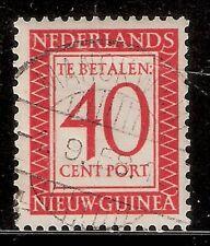 Nederlands Nieuw Guinea Port  Nummer  5   gebruikt.