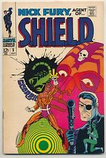 Nick Fury Agent of Shield #5 (1968) Very Good Plus (4.5) ~ Silver Age