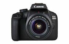 Canon EOS 4000D 18 Mpix Appareil Photo Reflex Numérique Kit avec EF-S 18-55 mm Objectif - Noir