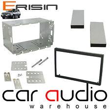 ERISIN 110mm Universale Doppio Din Radio Stereo Auto Gabbia & STAFFE Kit di montaggio