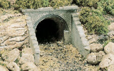 2 x Masonary Arch Culverts - Woodlands Scenics HO Scale #C1263