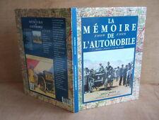 RIBEMON :LA MEMOIRE DE L'AUTOMOBILE 1895 1995. BERRY, POITOU, VAL DE LOIRE