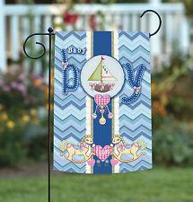 New Toland - It's a Baby Boy - Blue Infant Joy Love Male Garden Flag