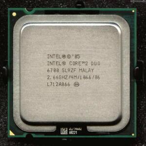 ESP Intel Core 2 Duo E6700 (4M Cache, 2.66 GHz, 1066 MHz FSB) Socket 775