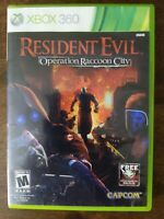 USED (Complete) Resident Evil: Operation Raccoon City XBOX 360 Shooter