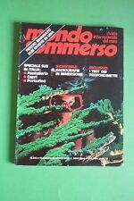 Magazine MONDO SOMMERSO n.213 del 1978 Rivista internazionale del mare