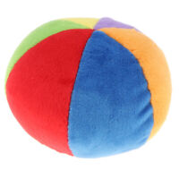10cm Small Colorful Plush Ball Rattle Bell, Kids Baby's Early Skill