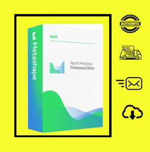 Agisoft PhotoScan Metashape Pro  Lifetime Full Version Win