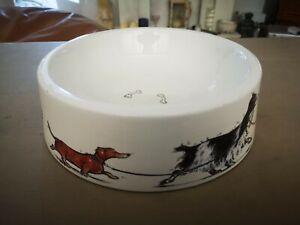 Vintage Royale Stratford Minter Kemp Ceramic Dog Water Food Bowl