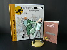 "LARGE TINTIN FIGURINE ""OFFICIAL COLLECTION"" #M64 LE DOCTEUR MÜLLER RÉAPPARAÎT"