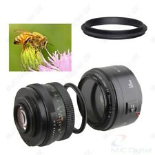 Male to Male Lens Ring 55mm-58mm 55 to 58 Macro Reverse Ring Adapters