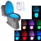 Led Nachtlicht Toilettendeckel mit Bewegungsmelder WC Sitz Klobrille Klodeckel