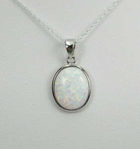 opal pendant silver 925/%