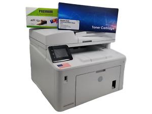 HP LaserJet Pro MFP M227fdw Print Copy Scan Fax Wireless Refurbished LOW PAGE CT