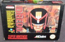 1 RETRO GIOCO SUPER NINTENDO RETROGAME SNES FILM COMICS ACTION GAME-JUDGE DREDD